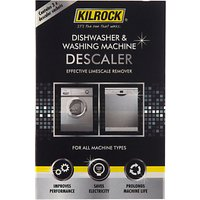 Kilrock Large Appliance Descaler, 3 x 50g