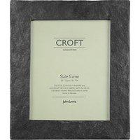 John Lewis Croft Collection Slate Photo Frame, Black, 8 x 10 (20 x 25cm)