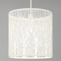John Lewis Devon Easy-to-fit Ceiling Shade, Small