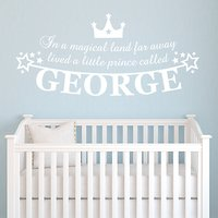 Megan Claire Personalised Little Prince Wall Sticker