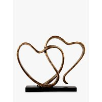 Libra Two Hearts Sculpture