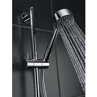 Abode Euphoria AB2316 Wall Mounted Thermostatic Shower Valve and Sliding Rail Kit