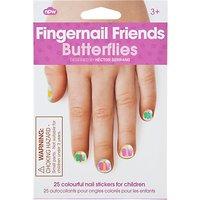 Fingernail Friends: Butterflies Nail Decals
