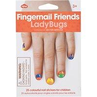 Fingernail Friends: Ladybug Nail Decals, Multi