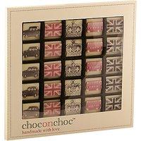Choc on Choc 25 Block Icon Chocolate Box, 250g