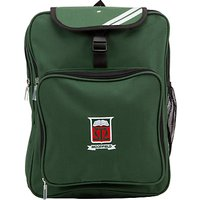Moorfield School Unisex Backpack, Green