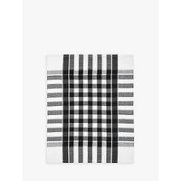 John Lewis The Basics Tea Towels, Set of 2, Black