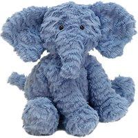 Jellycat Fuddlewuddle Elephant Soft Toy, Medium, Blue
