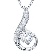 shop for Jools by Jenny Brown Freshwater Pearl And Cubic Zirconia Hook Pendant at Shopo