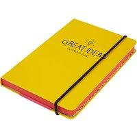 Happy Jackson A6 Notebook, Yellow