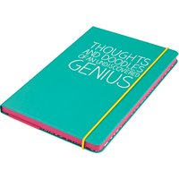 Happy Jackson A5 Thoughts Notebook, Green