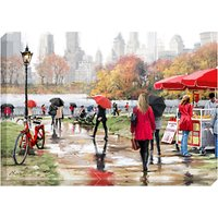 Richard Macneil - In Central Park Print on Canvas, 70 x 100cm