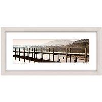 Mike Shepherd - Lake Coniston Framed Print, 52 x 107cm
