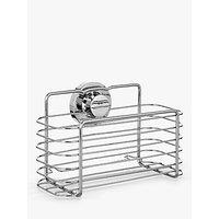 Bliss Lock N Roll Rectangular Suction Shower Basket