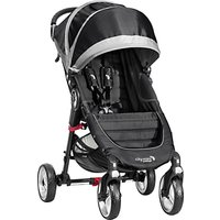 Baby Jogger City Mini 4-Wheel Pushchair, Black/Grey