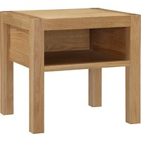 House by John Lewis Ollie Bedside Table, Oak