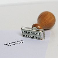 StompStamps Personalised Handmade By Stamp