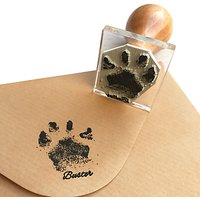 StompStamps Personalised Buster Paw Print Stamp Kit