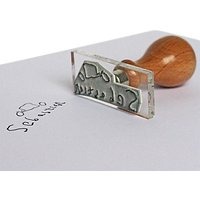StompStamps Personalised Family Signature Stamp, Small