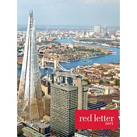 Red Letter Days Shard and Tea for 2