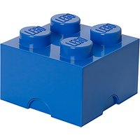 LEGO 4 Stud Storage Brick, Blue