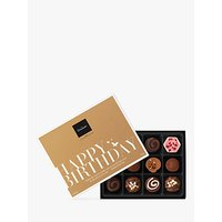 Hotel Chocolat 'Happy Birthday' Chocolate Gift Box, 140g