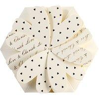 Cca Lotus Flower Personalised Wedding Invitations, Pack Of 60
