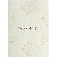 Cca Pearls Personalised Wedding Rsvp Reply Cards, Pack Of 60, Gold