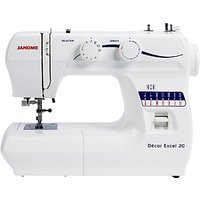 Janome Decor Excel 20 Sewing Machine