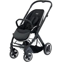 BabyStyle Oyster 2 Pushchair Chassis and Seat, Black