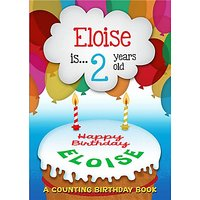 The Letteroom Personalised Counting Birthday Book