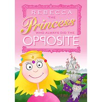 The Letteroom Personalised Opposite Princess Story Book