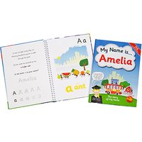 The Letteroom Personalised Story Name Book