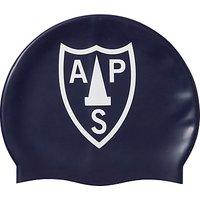 Alpha Prep School Swimming Cap, Navy