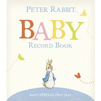 Peter Rabbit Baby's First Year Record Book