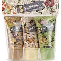 Heathcote & Ivory Gardeners Shea Butter Hand Cream Trio, 3 x 30ml
