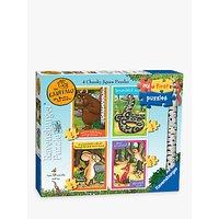 Ravensburger Gruffalo Chunky Jigsaw Puzzles, Pack of 4