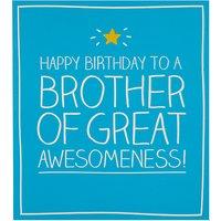 Happy Jackson Brother Birthday Card