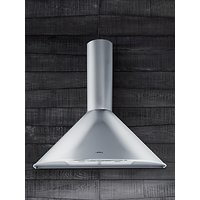 Elica Tonda 90 Chimney Cooker Hood, Stainless Steel