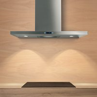 Elica Tender 70 Slimline Chimney Cooker Hood, Stainless Steel
