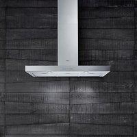 Elica Ledge 90 Chimney Cooker Hood, Stainless Steel