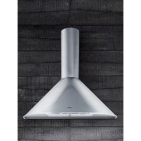 Elica Tonda 60 Chimney Cooker Hood, Stainless Steel