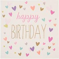 Woodmansterne Birthday Hearts Birthday Card