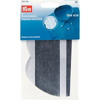 Prym Disposable Dress Shields, Grey