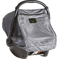 SnoozeShade Deluxe for Infant Car Seats, Silver