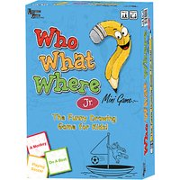 Who What Where Junior Mini Game