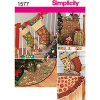 Simplicity Craft Sewing Leaflet, 1577