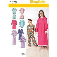 Simplicity Children Dressmaking Leaflet, 1570