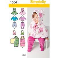 Simplicity Children Dressmaking Leaflet, 1564, A