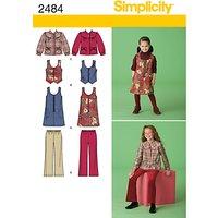 Simplicity Girls Separates Sewing Pattern, 2484